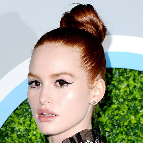 Madelaine Petsch's Exaggerated Cat-Eye Liner Is All We Want to Wear This Season