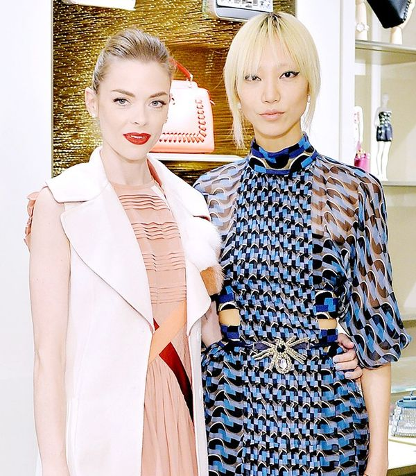 Jaime King and Soo Joo Park
