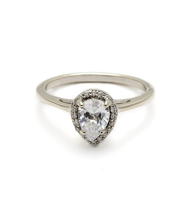 Anna Sheffield Pear Rosette Ring