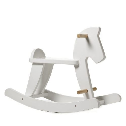 Adairs Baby  Robbie Rocking Horse White