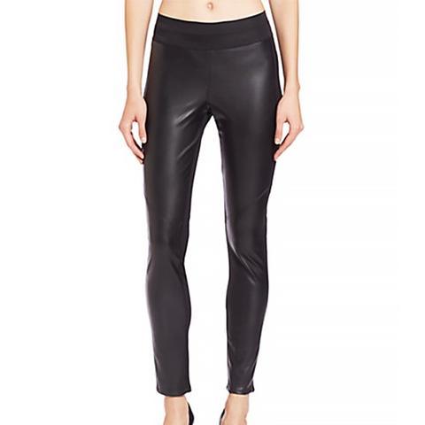 Paloma Faux Leather-Paneled Leggings