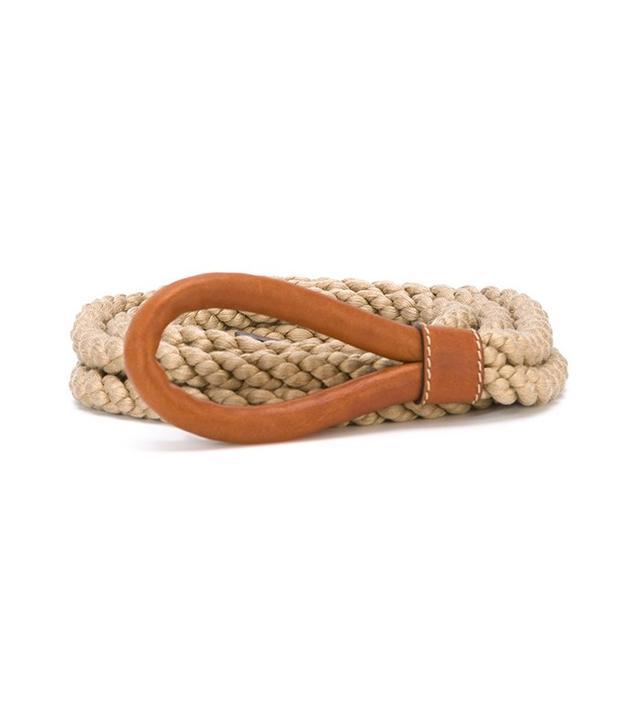 Erika Cavallini Braided Rope Belt