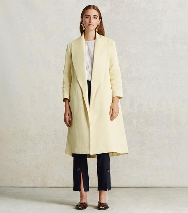 Trademark Satin Shawl Coat