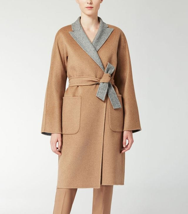 MaxMara Reversible Wool and Camelhair Coat