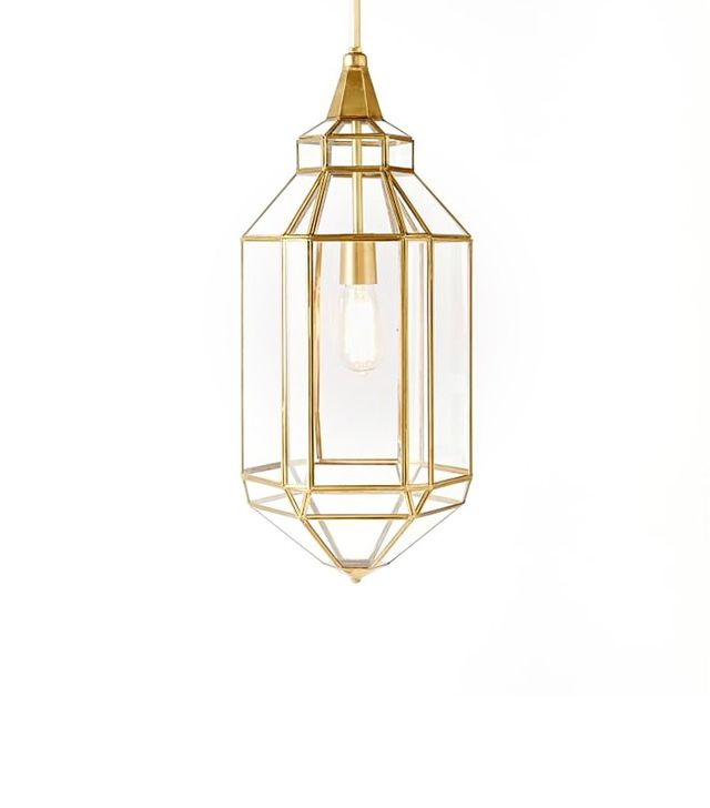 West Elm Moroccan Glass Pendants