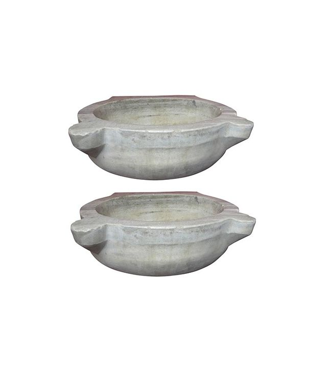Monumenta Historica Pair of Antique Marble Architectural Wash Basins