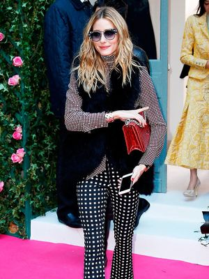 The No-Fail Guide to Mixing Prints Like Olivia Palermo