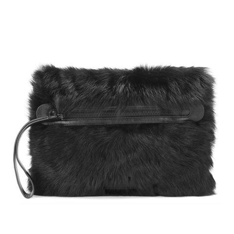 Square Fur Clutch