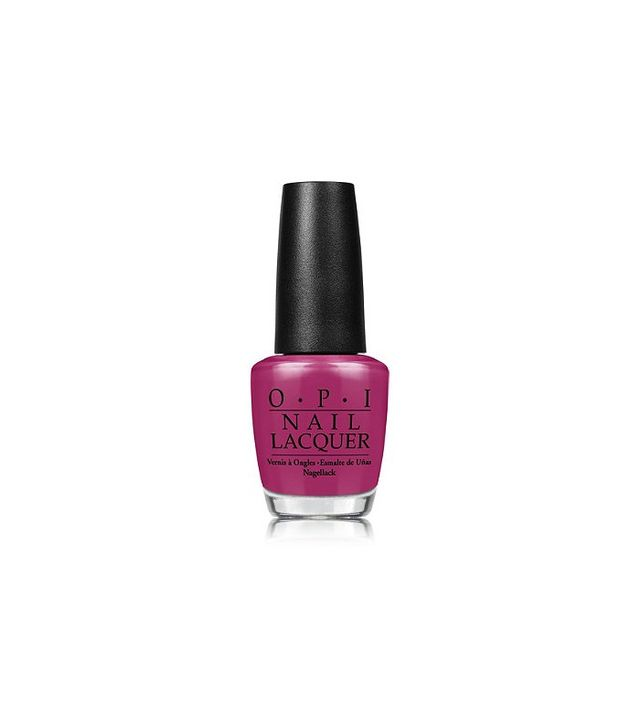 OPI Nail Lacquer Spare Me a French Quarter? Mellowed Raspberry Crème