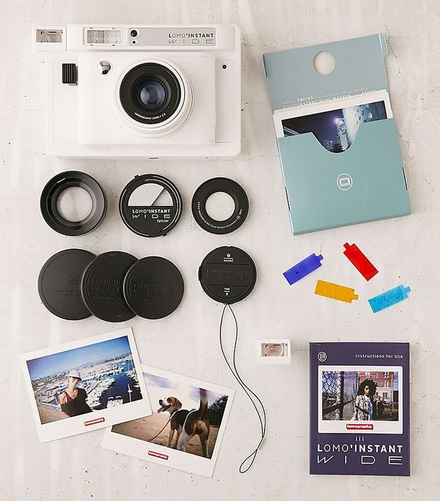 Lomography Lomo'Instant Wide Camera in White