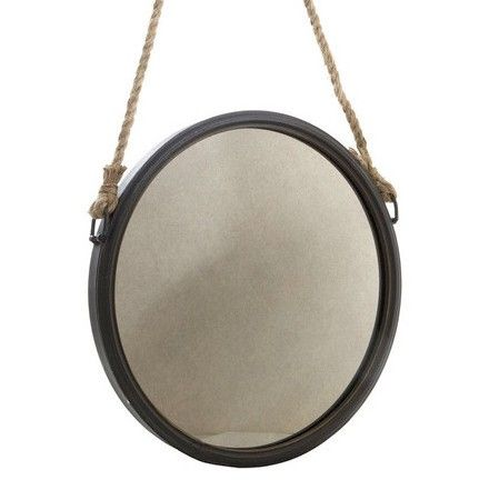 Shine Mirrors Round Decor Wall Mirror
