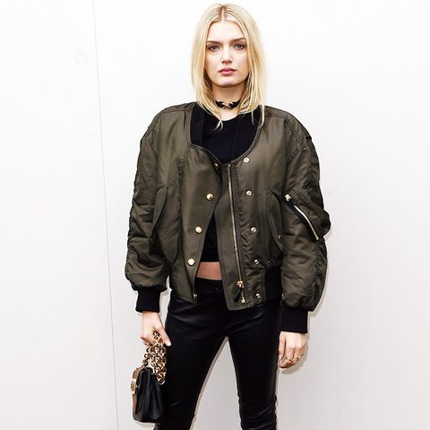 How To and What to Wear With a Bomber Jacket: Lila Donaldson