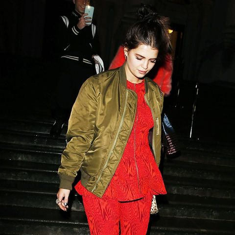 How To and What to Wear With a Bomber Jacket: Pixie Geldof