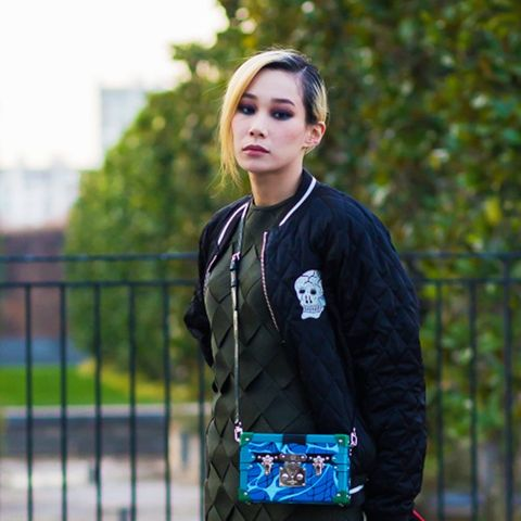 How To and What to Wear With a Bomber Jacket: Mademoiselle Yulia