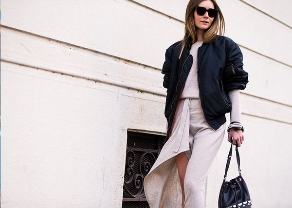 How To and What to Wear With a Bomber Jacket: Chiara Capitani