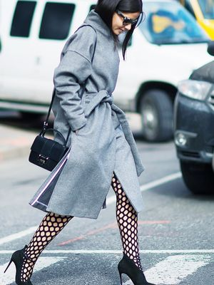 Wait—Did Patterned Tights Just Become a Thing?