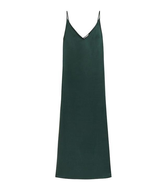 Equipment Racquel Silk-Charmeuse Maxi Dress