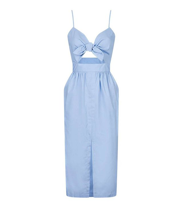 Topshop Bow Front Sun Dress