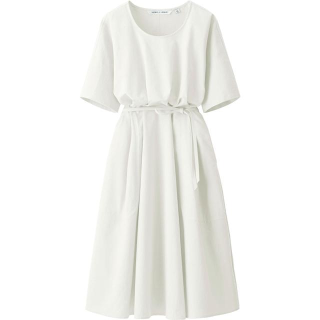 Uniqlo x Lemaire Seersucker Short Sleeve Dress