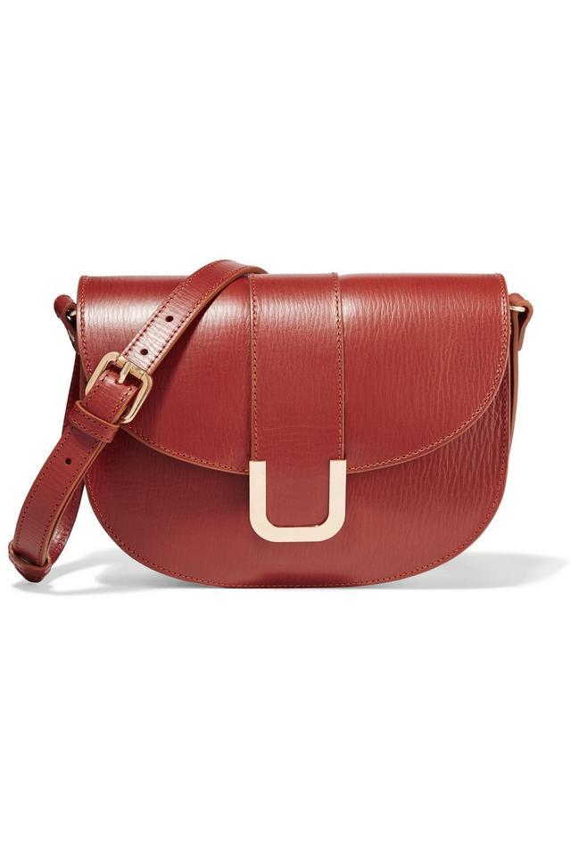 A.P.C. Sac Soho Textured-Leather Shoulder Bag