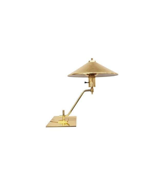 Chairish Modernist Brass Desk Lamp