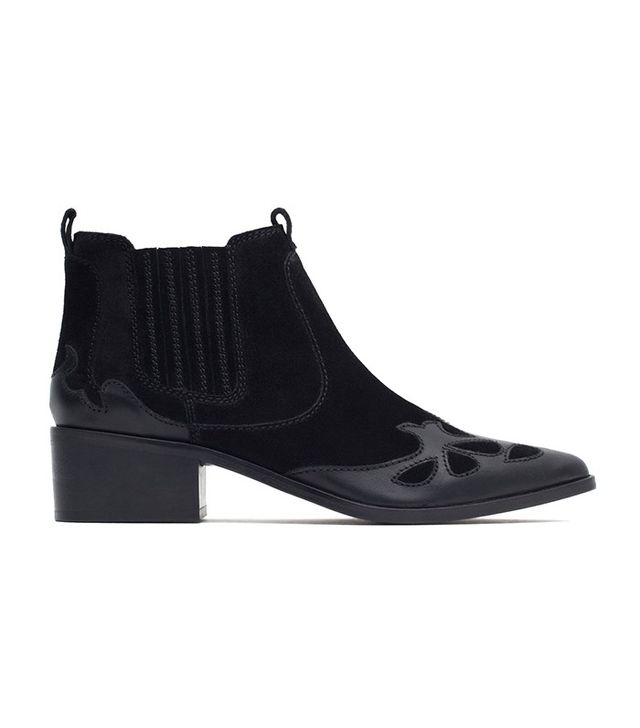 Zara Ankle Cowboy Boot