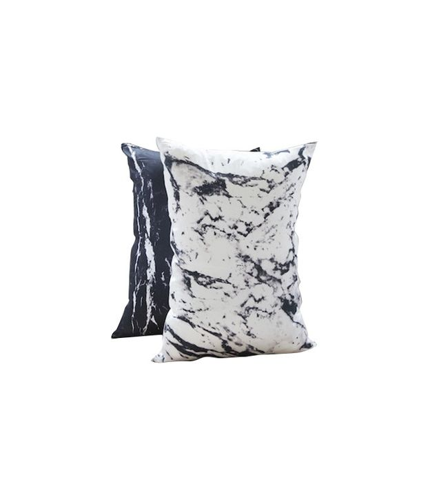 Shhh Silk Two Mixed Marble Silk Pillowcases