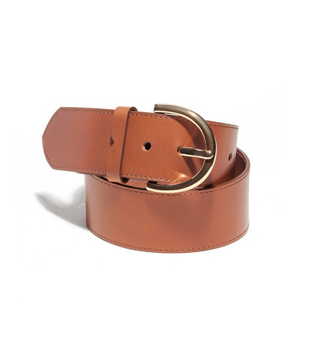 & Other Stories D-Buckle Leather Belt