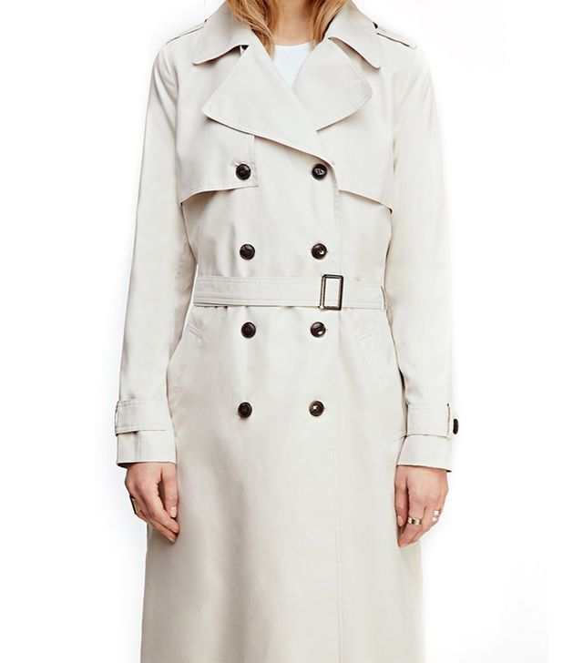 Forever 21 Classic Belted Trench Coat