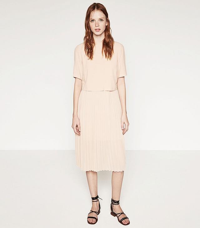 Zara Mid-Length Dress