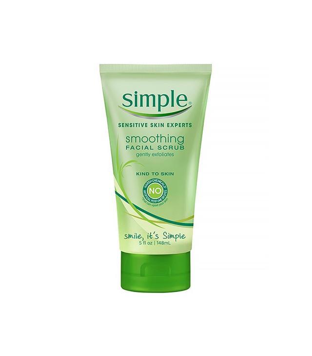 Scrub for sensitive skin