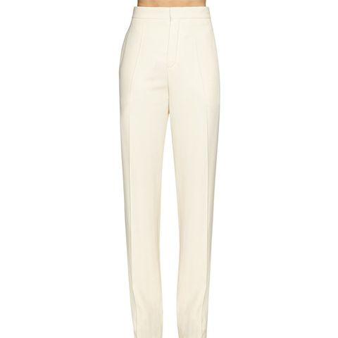 Straight Leg Cady Trousers