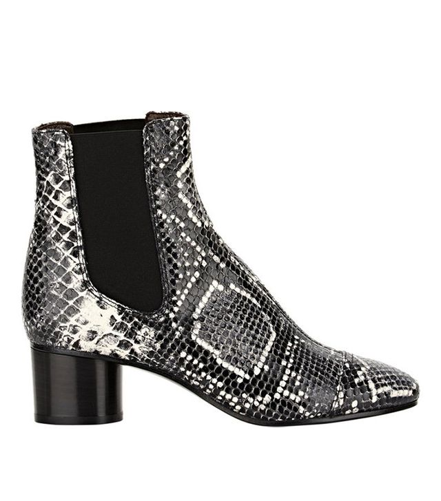 Isabel Marant Python-Stamped Danae Boots