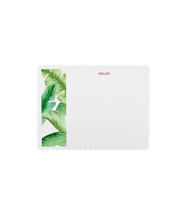 Design Darling Banana Leaf Notecards