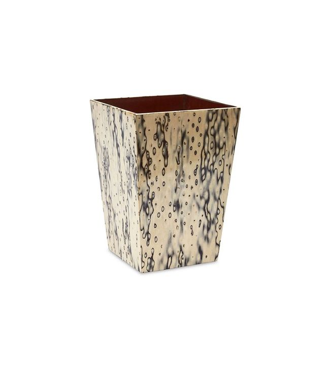 Sashi Natural Bird Eye Veneer Waste Basket