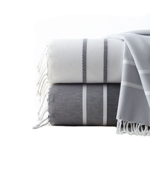 Scents and Feel Fouta Herringbone Bath Towel