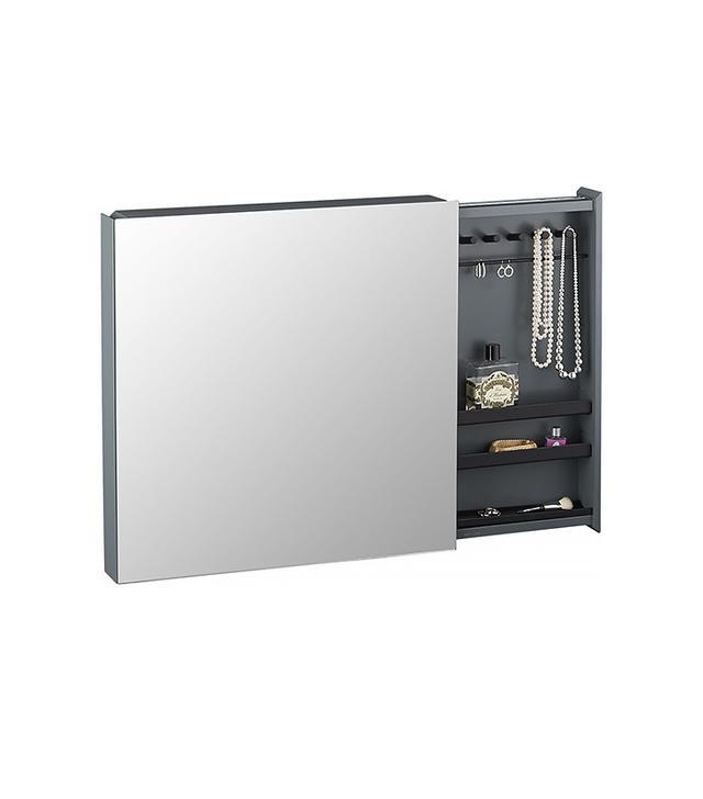 CB2 SAIC Valet Jewelry Cabinet With Mirror