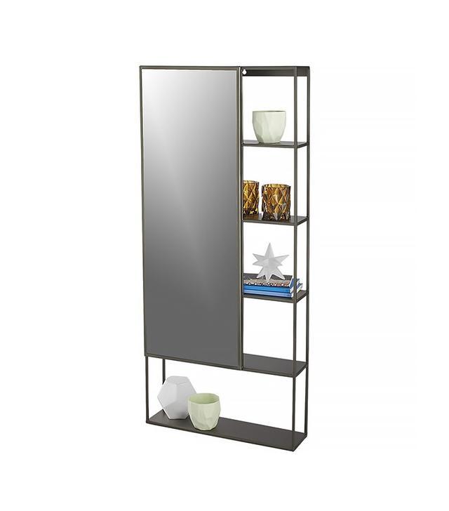 CB2 Peek Shelf With Mirror