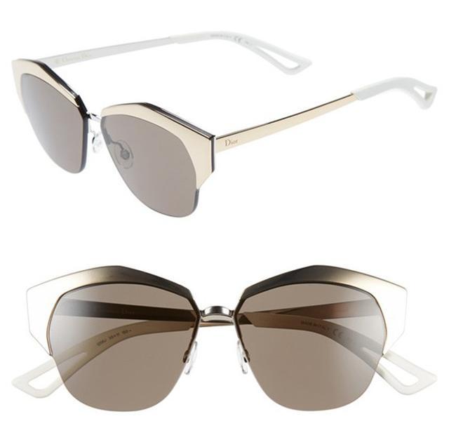 Dior Mirrors 55mm Cat Eye Sunglasses