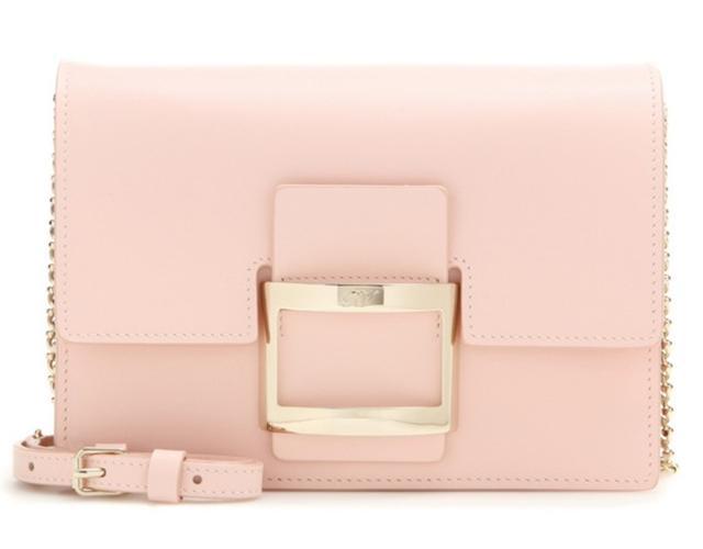 Roger Vivier Viv Icon Micro Leather Shoulder Bag