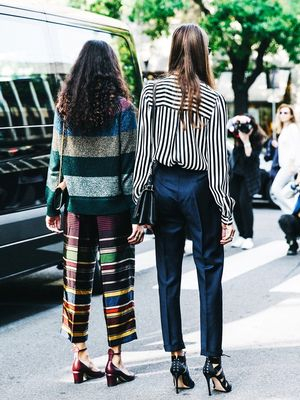 2 Takes on Stripes From the Streets of Milan