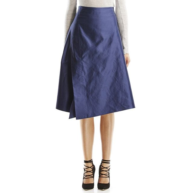 Scanlan Theodore Duchess Satin Skirt