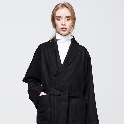 Crop Robe Coat