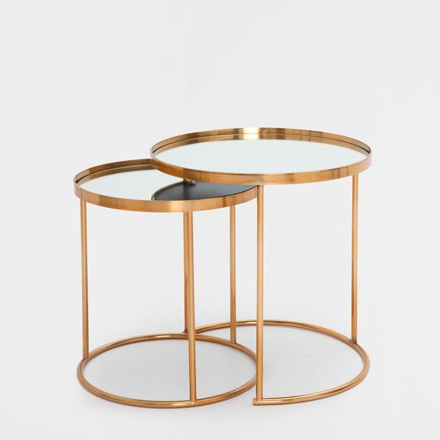 Zara Home Round Nest Tables (set of 2)