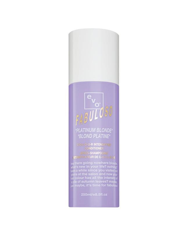Evo Fabuloso Colour Intensifying Conditioner in Platinum Blonde
