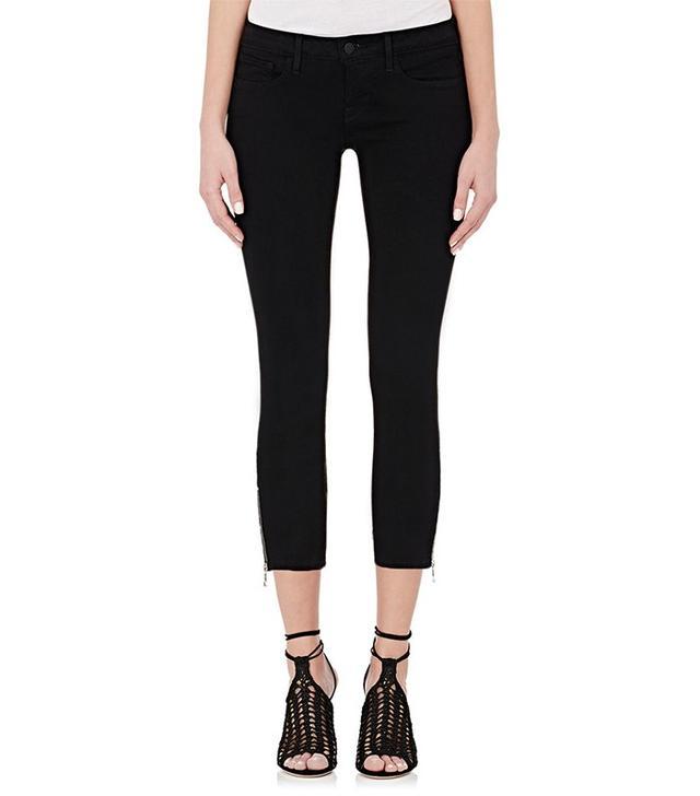 L'Agence Emanuelle Mid-Rise Crop Skinny Jeans
