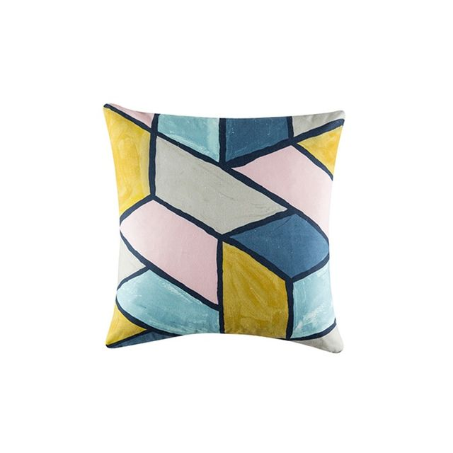 Freedom Pastel Prints Cushion 50x50cm For Real Living in Multi