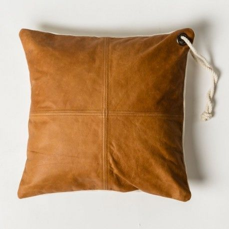 MJG by Mr Jason Grant Easy Leather Cushion