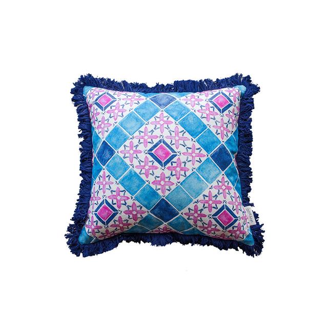 Liberty Trading Co. Moroccan Tile Cushion