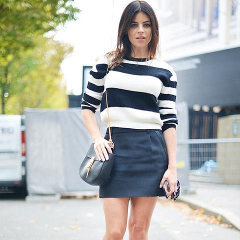 Most stylish French women: Julia Restoin Roitfeld